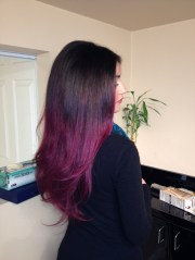purple ombre #hair #styles