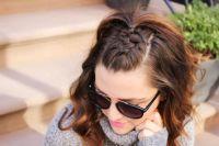 25+ best ideas about Half french braids on Pinterest ...