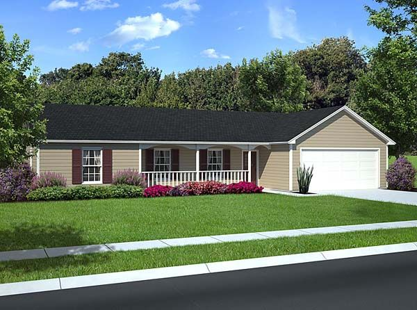 landscaping ideas ranch style house