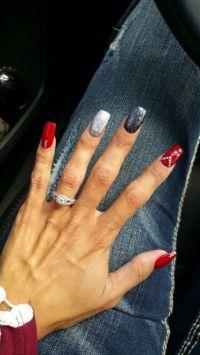 Best 25+ Red black nails ideas on Pinterest
