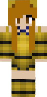 Minecraft Fnaf Girl Skins Gold Freddie Google