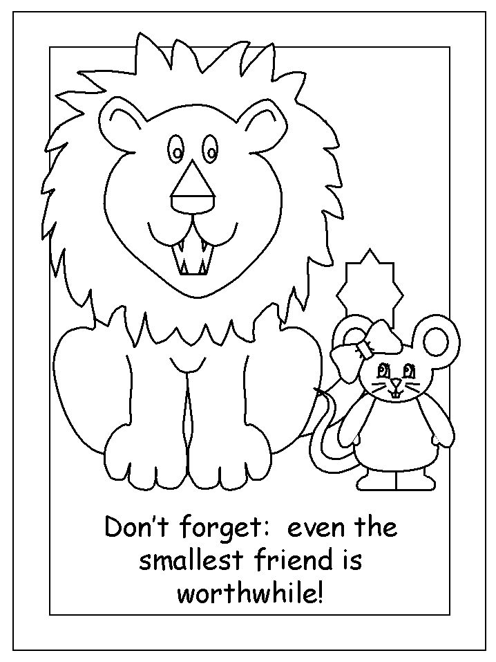 24 best images about Lion and the mouse on Pinterest