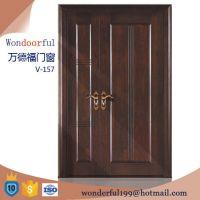Teak Wood Main Entrance Wooden Double Door Designs - Buy ...
