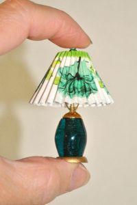 Handmade Dollhouse Lamp, Dollhouse Miniature 1:12 Scale ...