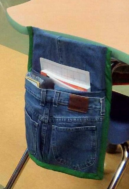 Chair Pockets For Classroom