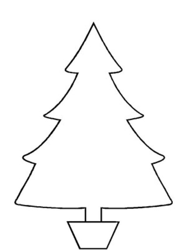 Free, Printable Christmas Tree Templates In All Shapes and