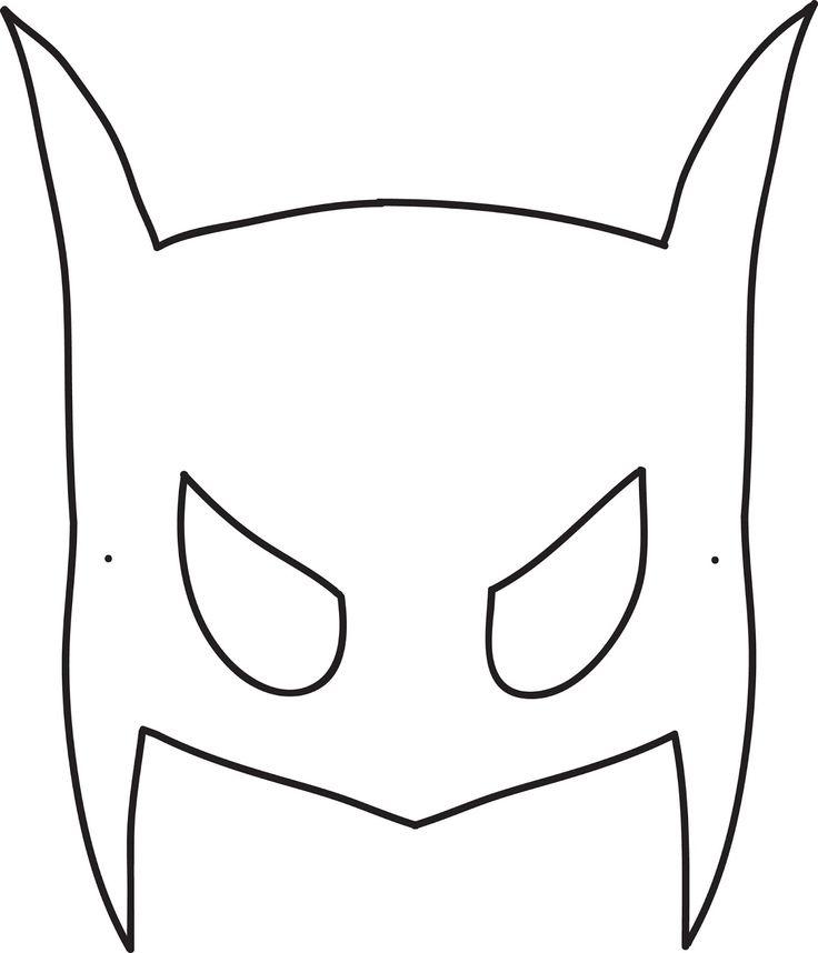 Best 25+ Batman mask template ideas on Pinterest