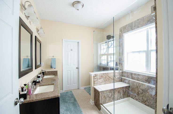 116 best images about ReBath Remodels on Pinterest  Frameless shower Bathroom bench and