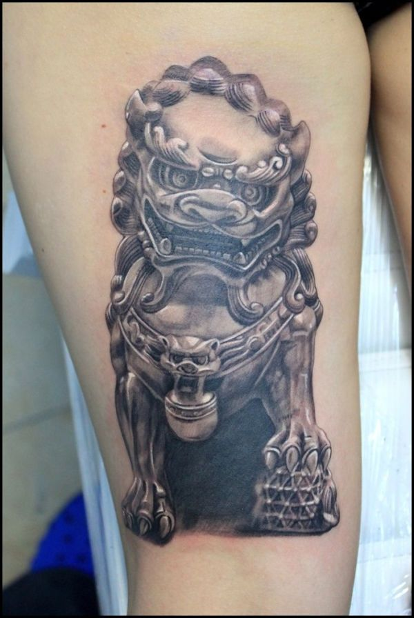 20 Lion Pair Tattoos Ideas And Designs