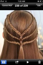 super easy hairstyle school