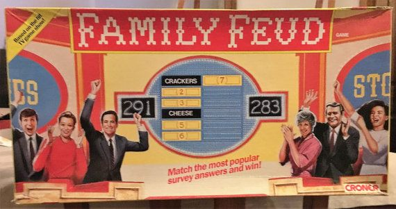 Family Feud Home 1990 Game