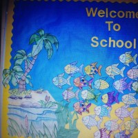 Rainbow fish bulletin board or door idea   DOOR decorating ...