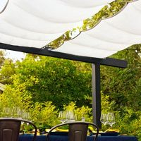 67 best images about temporary shade for patio on ...