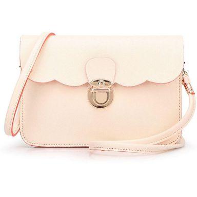 Tonsee Women Clutch Handbag Tote Purse Hobo Messenger (Beige): Handbags: Amazon.com