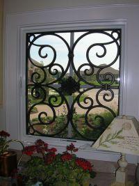 53 best Tableaux Faux Iron Window Treatments images on ...