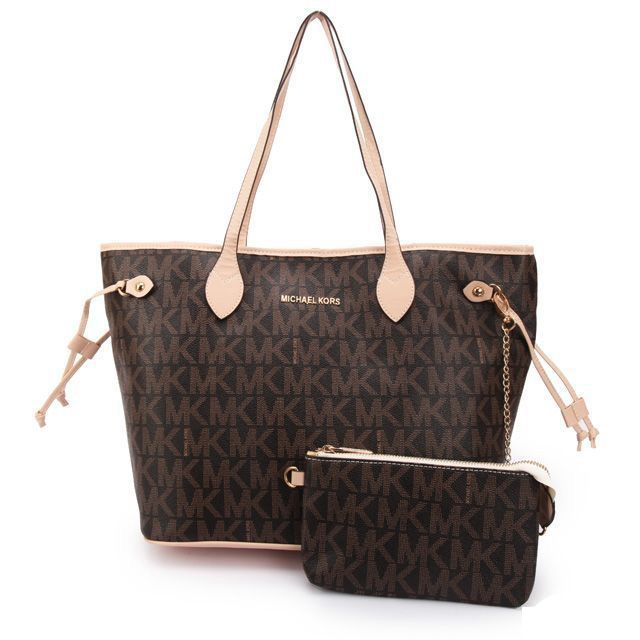 I LOVE this Michael Kors Jet Set Signature Large Coffee Totes and Im not even a huge Coach type of