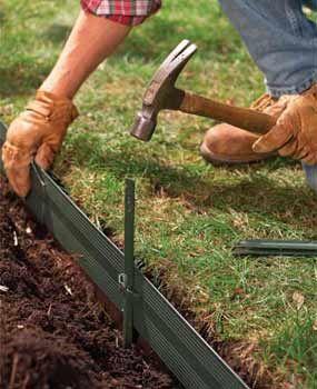 25 Best Ideas About Plastic Lawn Edging On Pinterest Plastic