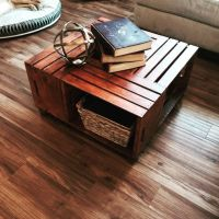 Wooden crate coffee table | My projects | Pinterest ...