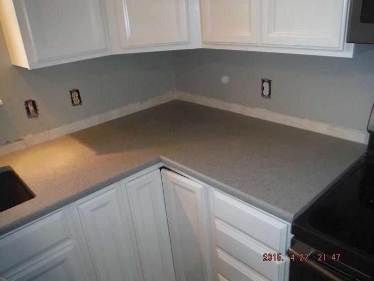 Castle LG Viatera quartz kitchen countertop install for