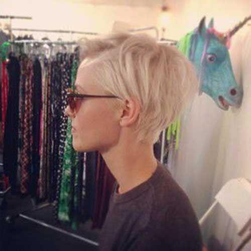 Die Besten 25 Blonde Pixie Schnitte Ideen Auf Pinterest