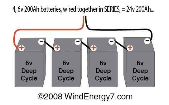 36v Trolling Motor Wiring Diagram Wiring Multiple 6 Volt Batteries Together Battery Bank