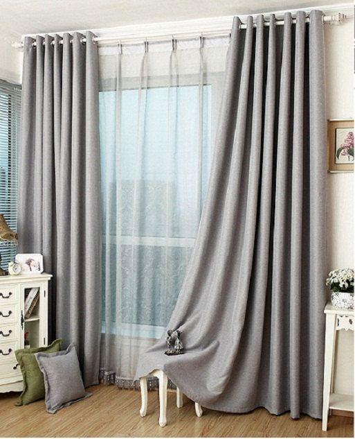 25 Best Ideas About Grey Blackout Curtains On Pinterest Window