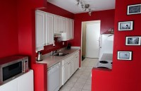 Tile Splashback Ideas Pictures: Red Painted Kitchens ...