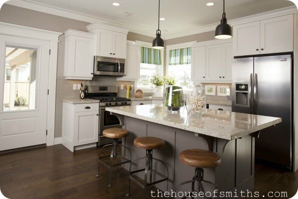 kitchen cabinets knoxville island storage benjamin moore silver fox   home - paint colors ...