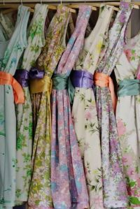 1000+ ideas about Patterned Bridesmaid Dresses on ...