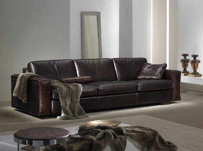 25 Best Ideas About Modern Leather Sofa On Pinterest Midcentury
