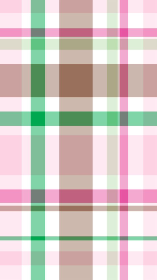 Cute Preppy Deskstop Wallpapers Iphone 5 Wallpaper Pink And Green Preppy Plaid Pattern