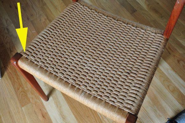 Tutorial for reweaving Danish Paper Cord chairs  Make