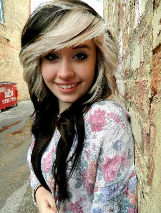 25 Best Ideas About Black And Blonde On Pinterest Black And