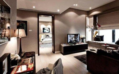 Earth Tone Interior Design Design Minimalist Aesthetic Modern Interior Duplex Apartment