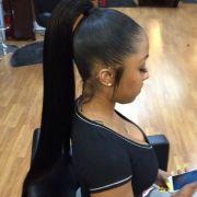 ideas weave ponytail