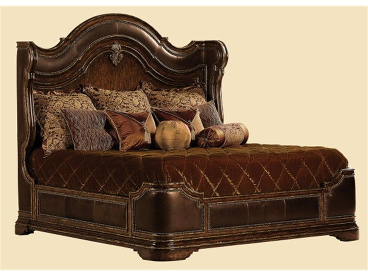 Marge Carson Bedroom Umbria Bed UM91 Boyles Furniture