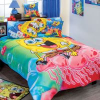 Spongebob Adventure Comforter Set Size Full 7 Piece ...