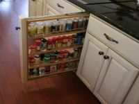 Narrow pull out spice rack | Kitchen Inspiration ...