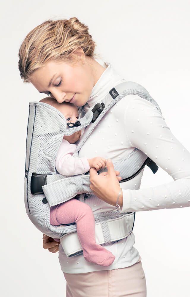 porte bebe de qualite superieure en tissu maille filet aere ergonomique pour l