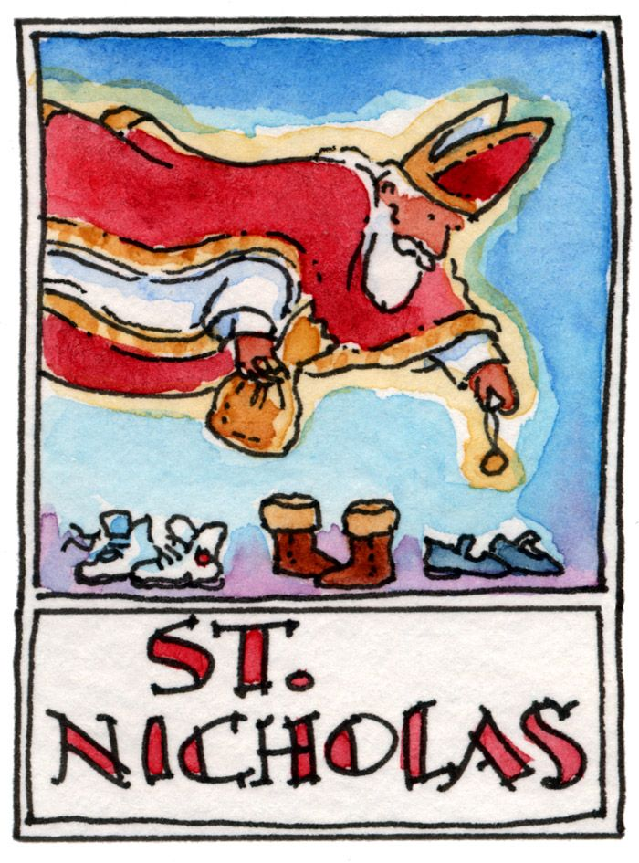 St Nicholas Day St Nicholas Pinterest Each Day