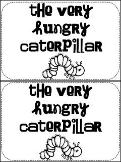 1000+ images about Lesson Plan- The Very Hungry