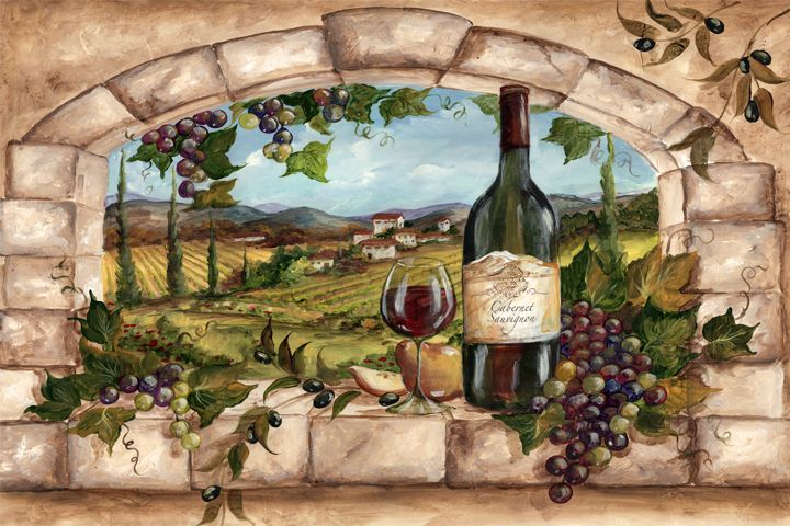1000+ Images About Vineyard Mural On Pinterest