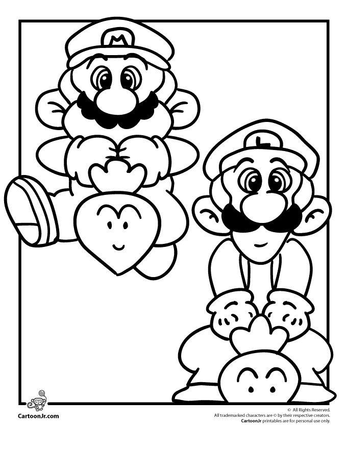 http://www.cartoonjr.com/mario-coloring-pages/mario-luigi