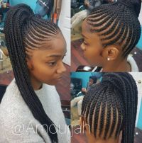 25+ best ideas about Natural braided hairstyles on ...