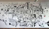Mural image | Art | Pinterest | Walls and Doodles