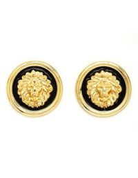 Lion Head Stud Earrings: Charlotte Russe | Jewelry ...