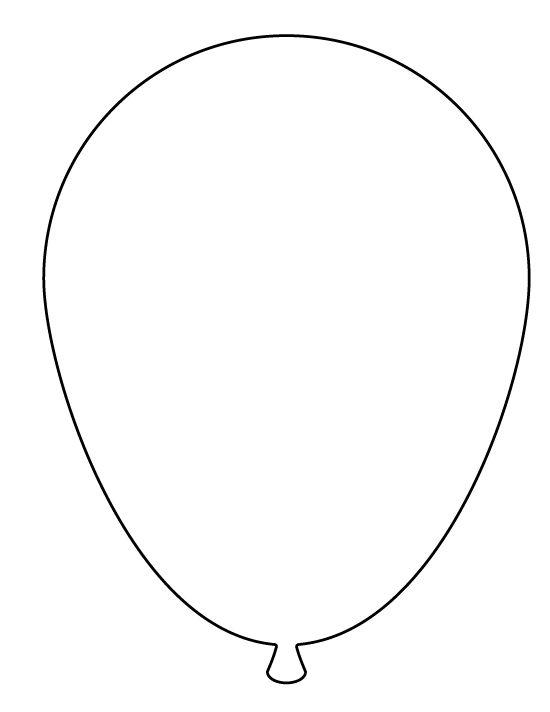 large balloon pattern