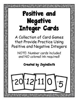 1000+ ideas about Negative Numbers Games on Pinterest