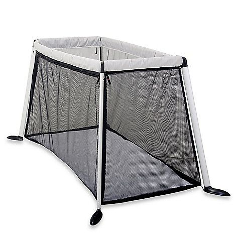 the lightweight and compact design of the traveller porta cot makes it a perfect play