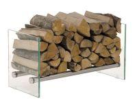 Firewood Rack GAVIN 75 Stainless Steel Log Basket Stand ...
